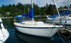 Sodajak is an amazing example of a well built Ericson 29 Sailboat. She's been well maintained with yearly servicing to her Atomic 4 Cyliner 30HP engine as well as regular cleaning. Her SPACIOUS interior provides comfortable accommodation, while outside