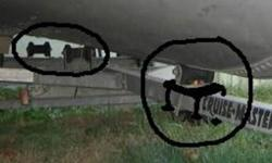 """I just bought a boat trailer but there are no rollers.  YES I""""VE BEEN TO PRINCESS AUTO they have rollers but no brackets and no bolts for the center   SO:   I need 2 1 front and 1 at the very back between the bunks. the trailer has flat plates   see pic"""