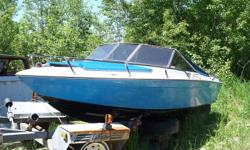 One boat is a 1991 chapparal with a 3.0l mercruiser. It is in need of a below boot kit approx. $200.00 and is need of interior repairs. The other boat not sure what year but has new interior. Was going to repair one boat for next season but lost interest.