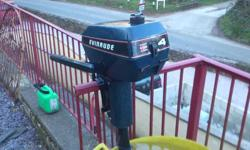 I'm looking for 3-4 hp Evinrude outboard motor for parts. Send me pics of what you have and price. Should look like the attached. Thx,