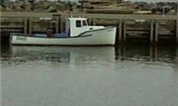 The boat is a Dana Hunter Style Boat that has been used for lobster fishing for the past 20 years. It has a 4 cylinder Perkins diesel engine, excellent on fuel, and velvet drive transmision. Many new parts and features, well taken care of, and has a very