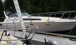 Needs some TLC from someone who has the time. The two engines (2 x 305 Chevy's) were serviced some time back but have not since been used. Sale is as-is/where-is. Boat name is Aussie Rules and can be seen at Pedder Bay Marina on Vancouver Island.