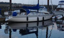 Sparkman/Stephens Cutter Rigged Clean well equipped Cruiser , fully self contained and very well suited for cruising the island both south and north. Comfort below decks for extended cruises , custom interior design. This is a well built vessel with fin