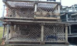 I am selling 39 inch lobster traps. 100 of them fished this past spring. They are still in good shape. Email for more details.