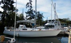 Rare, spacious model. Built by Morgan Yachts in Tampa, Florida, the North American is a fin keeled model fiberglass sloop that is suitable for racing or cruising. She is fitted out with rod rigging, a full set of sails and extra marine gear. Please call