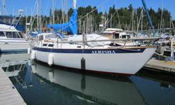 """Year: 1983 Location: Westport Marina Hull Material: Fiberglass Engine/Fuel Type: Diesel Designer: DeKleer Brothers LOA: 40' 6 Beam: 12' 2"""" Displacement: 19,000 lbs net Draft: 6' 1 Fast, seaworthy, and capable of crossing oceans are what Fraser 41's are"""