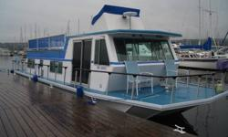 All Aluminum. Cathedral Hull. 2 - 351 Windsor Engines (aprox 360 hours) Queen bed in rear bedroom Sofa bed and dinette bed 10,000 Kw generator Hull in great shape Remodeled bathroom with head, sink, small bathtub and shower 3 burner oven, fridge and