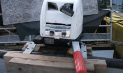 4 hp Triton outboard motor. Canadian made air cooled 2 stroke. Runs good. Asking $150.
