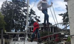 Serious enquirers only please This profesionally built off-shore steel sailboat was built in Vancouver. It was started in the late eighties and launched in the mid nineties. It was last hauled out and completely bottom stripped with the hull repainted in