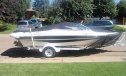 2004  565 Campion Allante with EZ load trailer.  5.0 GL Volvo penta inboard low hours Comes with new swim platform recently installed, fish finder, rock guard, stainless steel five blade prop, lifejackets, wetsuits, three person tube This boat is in