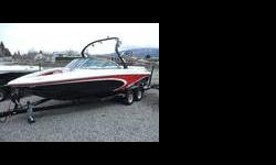 AWESOME boat! Includes a Gladiator Tower w/speakers, bimini, Bennett trim tab, heater tubes, docking lights, Pro Vision dash system, Upgraded Audio System, Swivel wakeboard racks, and much more! Hit the water in this TODAY! Engines: Single Engine
