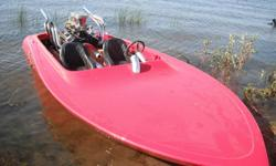 1968 Schiada flatbottom 17 foot v-drive circle boat. 390 ford big block (400hp) complete rebuild 10 1/2 to 1 compression new 8 quart oil pan new starter, billet alt. wires ect. new edelbrock 600 cfm carbs sanderson twistie headers aero marine pollished