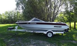 "1991 Invader V-177 : This is a well maintained 17'7"" boat and is turnkey ready for the water. It has a swim platform and an integral tow rope connection fixture. It is great for tubing and water skiing.The engine is a very powerful Mercruiser Alpha One"