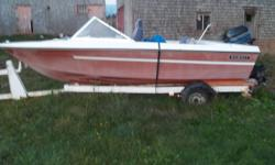 85 hp mercury Sunray boat and trailer need little tlc. 2200 OBO would love to keep Just had and have no time to enjoy it. For any more Info Please email