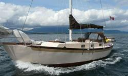 1989 ferro cement, Sampson c- mist double ender, Colin archer design. Loa 40ft Lod 34.6 Beam 12ft Draft 5.6 This great solid and sturdy sailboat is in good condition. Just pulled out of the water to give a new fresh coat of bottom paint and clean