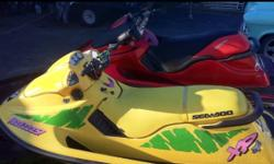 This machine is alot of fun. Well stored and maintained. Owned and rode for the last two summers, runs great. Looking for $3300 (yellow one) but open to offers. May sell as package deal with red seadoo which is also an 800. This ad was posted with the