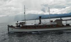 For Sale: The Classic Wooden Yacht: Cleodoxa You'll adore this gorgeous girl! Imagine yourself and your significant other enjoying her comfortable living accommodations and the sound hum of her motor: ONLY 20 HOURS running time on it! Wow! Diesel Power