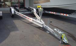 For sale. Brand New Dual Axle Aluminum Boat Trailers. Aluminum I Beam construction, Disk Brakes, all stainless steel fasteners, bunks. Other sizes and configuration also available.   I do not stock any here in Lower Sackville. I pick them up in New