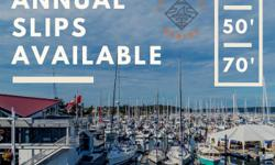 Looking for annual moorage for a 40', 50', or 70' boat? We can help! We are located in beautiful downtown Sidney by the Sea! Walking distance to grocery stores, great book shops, restaurants, and many other hidden treasures! Act fast as space is limited!