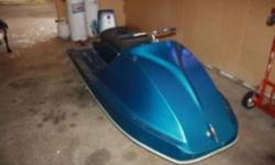 Old sea doo in immaculate shape Has 5hp motor that runs great. Can put bigger engine on, but this engine moves seadoo quite well Unsure of year Give me a reasonable offer or trade of anything you maybe have. Vehicles,motorized toys,tools, plumbing