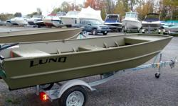 ATTENTION HUNTERS AND FISHERMAN!!! WE HAVE LUND JON BOATS IN STOCK 12' TO 14' STARTING AT $990.00 + HST (Trailer not included) GIVE US A CALL OR COME IN AND SEE US, WE ARE OPEN MONDAY to FRIDAY 8:00 TO 5:30 SATURDAYS 9:00AM TO 3:00PM SUNDAYS 10:00AM TO