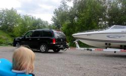 Mercruiser 3.7 Alpha 1, I / O .8 passenger Bow Rider, deep hull, great for deep water, excellent for all your water needs- tubing, water skiiing, etc. Comes with life jackets, and all safety equipment. Has new carpet, new battery, new cd stereo, and also