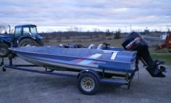 A 1998 bayliner 17 1/2 ft long with a 2001 115hp mercury motor, runs very good. trailer has new tires. re-built front and back plat forms and new carpet. asking for $3500 or best offer give me a call 613 379 2069.