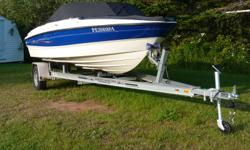 2006 Bayliner 185BR with Mercruiser I/O 3L under 60 hours use(motor has closed cooling system,only antifreeze in block),in excellent condition and everything works great with new aluminum trailer.Boat is fully equipped with running lights,stereo,bilge