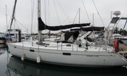 The Beneteau Oceanis 390 is designed by Phillip Briand. She is well balanced, fast, easy to handle and a joy to sail. The Beneteau team has created an extraordinary interior thats spacious, well appointed with 2 private staterooms and uses natural