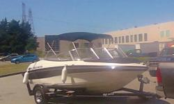 Bluewater imge open bow 19 feet long, volvo penta 4.3, l shaped seating with bolster captains and walk through transom on to oversized swim deck. Comes with bimini top, bow cover, cabin and full storage covers, matching trailer. Boat has around 100 hrs of