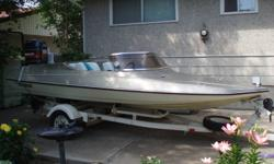 1984 tempest 14.5 ski boat with a 115hp mariner outboard. I also have tubes, skiis, ropes, life jackets, etc. to throw in, extra props as well. Call 403 952 7162 if interested.