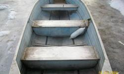 I have a 12 ft springbok boat with a 9 1/2 hp motor with gas tank and 2 oars for sale $900.00 FIRM