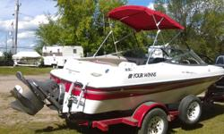 For Sale.. 1999 Four Winns, 4.3 Inboard 190 HP Carburetor Mint Condition All accessories included..(lifejackets, skiis, tube and more ) For more info call.. 306-570-6901 No answer call 306-545-8158 and leave message.