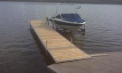 MarineMaster built in Saskatoon. Vertical Boat LIFTS 3000LB to 7000 LB Capacities. Manual, 12 Volt or 110 Electric Winches. 4000 LB Lifts are $5000 fully assembled 4', 5' and 6' Wide Roll in Docks ( 4' X 32' Roll in Dock complete is $3550) Lift Canopies