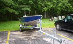 2010 12' Prince Craft Ungava Boat and Mecurcy 9.9 two stroke motor and both only been used 6 hrs and it also comes with a Heavy Duty Trailer, selling for $5500.00, If you are interested you may contact me at 902-624-0106 or my cell 902-523-0066 and ask