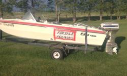 I have a Boat, Evinrude motor (55 hp), trailer in excellent condition - $2,000.00 o.b.o. Life jackets included. Please call 306-762-4545 to arrange a viewing.