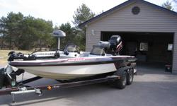 1996 - 2050 Dual Console Astro Bass Boat 2004 - 225 Mercury Opti Max Tandem Trailer, 4 new tires 2009 - 80 lb motor guide trolling motor 2 fish finders dual timed arriated live well 2 fishing seats power pole seat upgraded carpet and leather seats custom