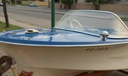 I have very nice 14.5 ft, ''Glascraft'' boat, with Mercury 500 (50 hp) motor, Trailer, Tarp, Install new battery . Using this boat 3 times every season for fishing. Motor runs very smooth, never had issue. Lot of power, good speed. Boat always parked in