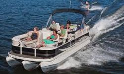 Boat Rental We Have a new 2014 25' Tri Toon (Pontoon) for rent, for either daily, weekly, weekends or for the month. This new Tri Toon is equipped with a 150hp etec motor, trolling motor, Ski and tube action bar, Fish finder/GPS/ Sonar. Comes with 8 life