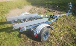 I HAVE A BOAT TRAILER FOR SALE, NEW WHEELBEARINGS AND CABLE, NEW WIRING, GOOD FOR A 12-14 FOOT BOAT  $350...I AM LOCATED IN CAPE BRETON BUT CAN DELIVER FOR SERIOUS BUYER