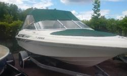 19 ft nordic bow rider 4.3 L mercruser 2002 model runs good consignment sale