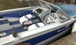 "1996 princecraft with 2000 evenrude 115 also 55 lb min kota electric with co pilot. Also comes with trailer with 2"" hitch. I have 2 extra seats also 1 downrigger. Also comes with 1 fish finder and 2 rod holders. Boat needs new tarp and a few minor things."