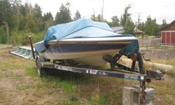 1988 19' Brendella Ski Boat and 21' trailer. This boat has been very much enjoyed and is looking for a new family who has time to enjoy her. Was winterized last winter but has not been out this year.