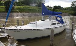 "Swing Keel shallow draft, 4'6"". Yanmar GM2 Diesel. New Refridgeration, Stereo system. New Dodger, Bimimi and Sail cover. Propane Stove, Barbeque. Hot and Cold running water. Raymarine C80 Chartplotter/Wind/Depth and Autopiolet. 8'6"" inflatable Tender with"
