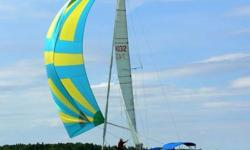 Always in Fresh Water.  Comfortable cruiser and rigged for performance. Well maintained, extensively upgraded C&C 34 Sailboat.  Lots of Harken hardware,  Yanmar Diesel 3 cyl - 30 HP, 12 sails + racing & crusing sails, bow roller, full enclosure, Harken