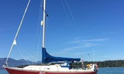 Excellent condition. Well maintained Yamaha 3G Diesel Dodger; auto helm; forced air heater ; electric fridge; 4 burner propane stove; well equipped Recent clean survey Call or e mail for photos, specs, survey Located: Salt Spring Island