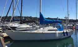 This one owner C&C 35 Mark III is a great cruising sailboat for the Pacific Northwest. Well equipped and professionally maintained over the years, she is now ready to change owners. !984 built, original Yanmar diesel, dinghy, well equipped. If you are