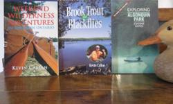 Canada's best canoe routes 2003 ISBN 1550463918 More of Canada's best canoe routes 2003 ISBN 155046390X Exploring Algonquin Park 1992 ISBN 155054019X A Paddler's guide to Algonquin Park 1997 ISBN 1550462113 A Paddler's guide to Weekend Wilderness
