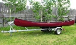 Looking for galvanized or aluminum canoe trailer for 16' fibreglass canoe like the one in the pic.