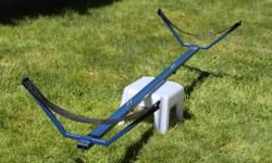 Kayak or Rowing Shell cradle, can be used as a car-top rack or as a portable frame to store your boat.
